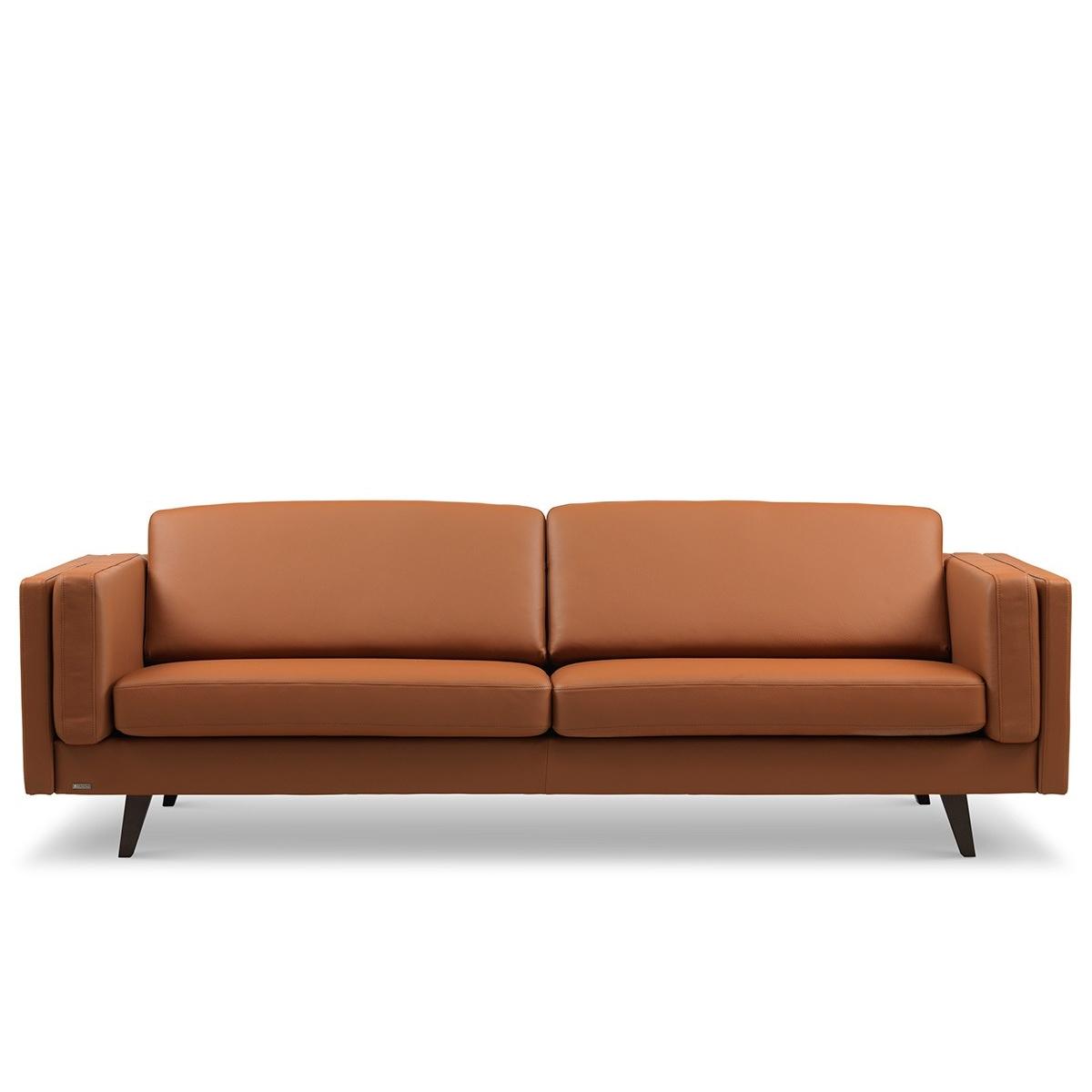 Brunstad Weston sofa 3 personers Cognac