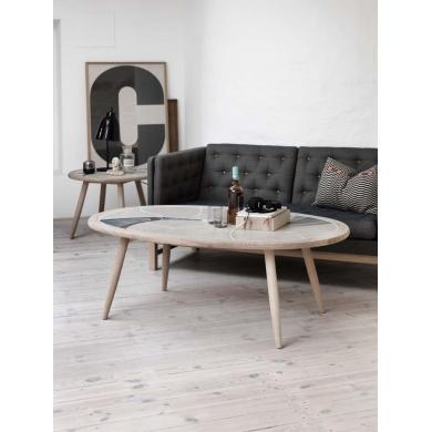 Haslev - Sympony 3400 kakkel sofabord og hjørnebord