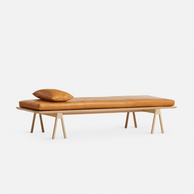 WOUD | Level daybed pude - Cognac | Bolighuset Werenberg