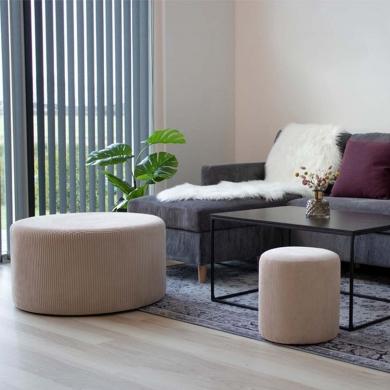 House Nordic | Melby puf - sandfarvet - Bolighuset Werenberg