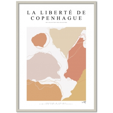 Poster & Frame | La Liberté De Copenhague - Bolighuset Werenberg