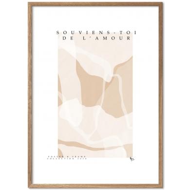 Poster & Frame | Souviens Toi De L'amour- Bolighuset Werenberg