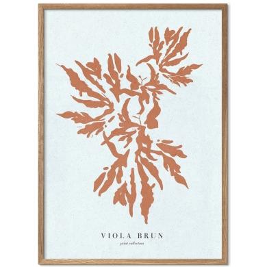 Poster & Frame | Coral burnt sienna - Bolighuset Werenberg
