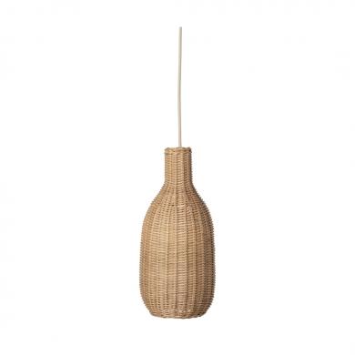 Ferm Living | Braided Bottle Lamp Shade - Bolighuset Werenberg