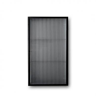 Ferm Living | Haze Wall Cabinet - Reeded glas | Bolighuset Werenberg