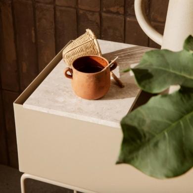 Ferm Living | Tray for Plant Box - Marble | Bolighuset Werenberg