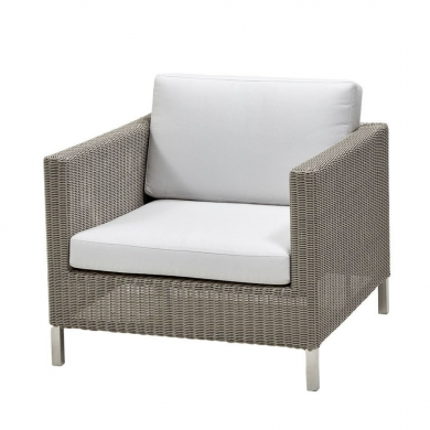 Cane-line | Connect Loungestol - Taupe | Bolighuset Werenberg