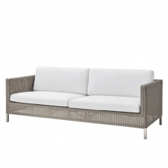 Cane-line | Connect 3 pers. sofa - Taupe