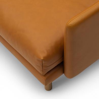 Bruunmunch   EMO 3 pers. sofa - Cognac   Bolighuset Werenberg
