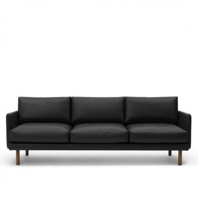 Bruunmunch   EMO 3 pers. sofa - Sort   Bolighuset Werenberg